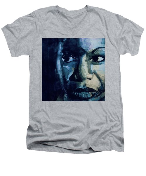 Sinnerman - Nina Simone Men's V-Neck T-Shirt