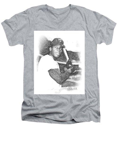 Rod Carew Men's V-Neck T-Shirt
