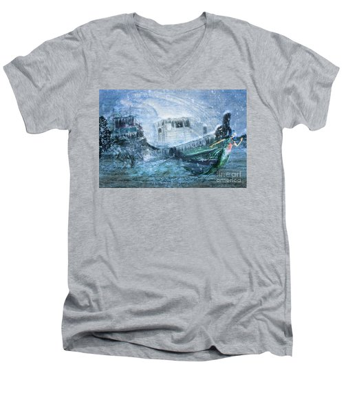 Siren Ship Men's V-Neck T-Shirt