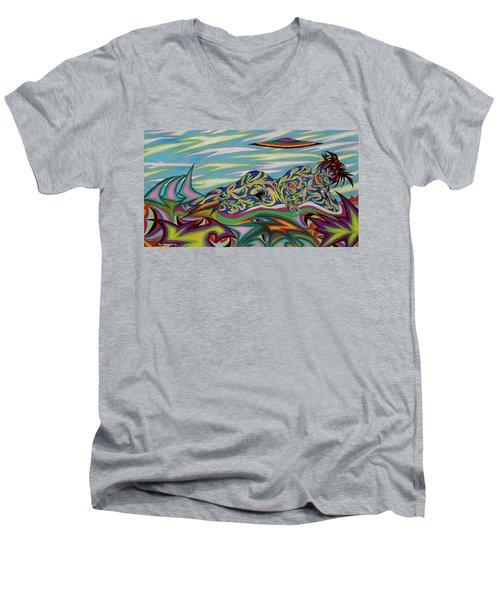 Sirene De Venus Men's V-Neck T-Shirt