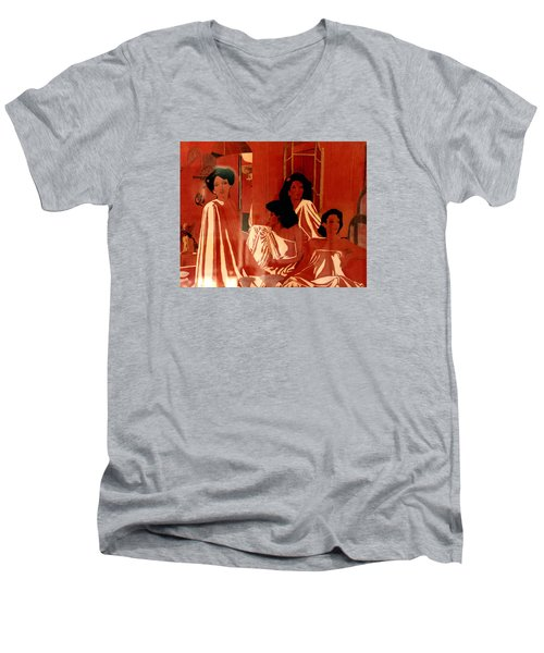 Sisters We Are Family Men's V-Neck T-Shirt