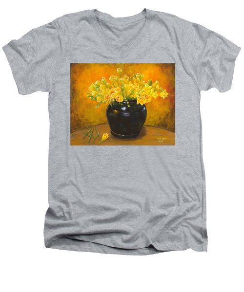 A Gift From The Past Men's V-Neck T-Shirt