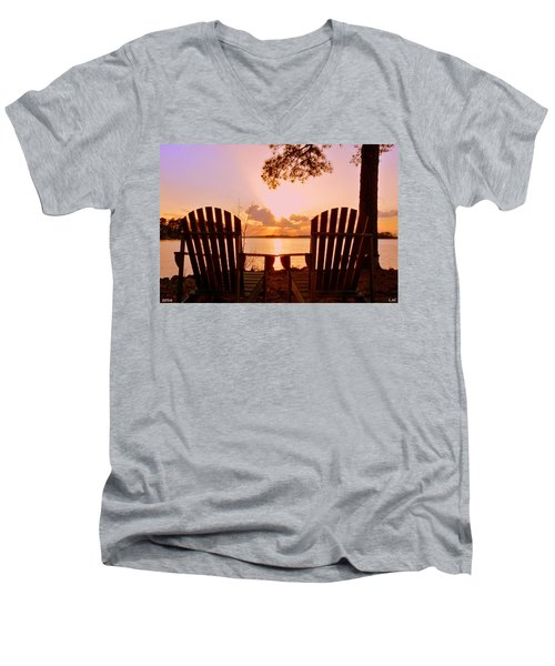 Sit Down And Relax Men's V-Neck T-Shirt