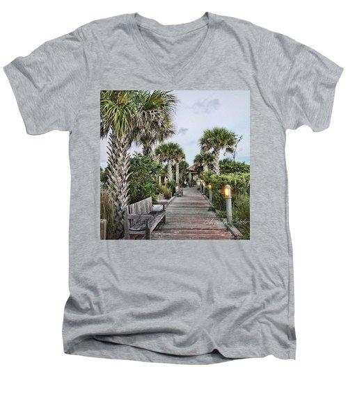 Sit N Relax Men's V-Neck T-Shirt