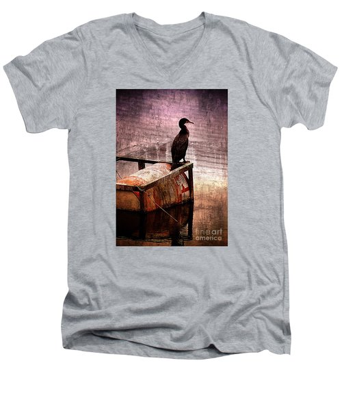 Sitting On The Dock Of The Bay Men's V-Neck T-Shirt