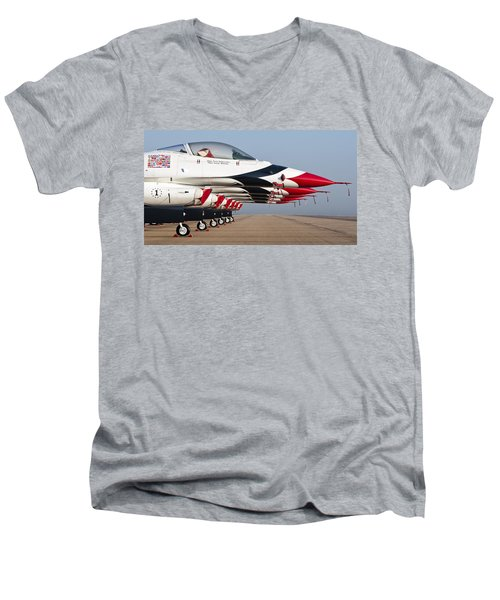 Six Pack Men's V-Neck T-Shirt