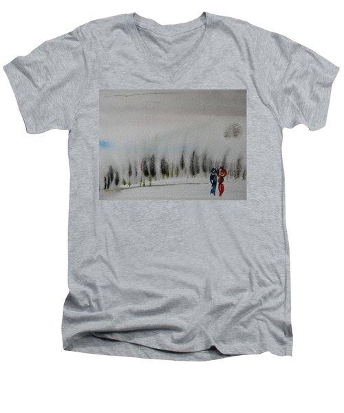 Six Seasons Dance Three Men's V-Neck T-Shirt