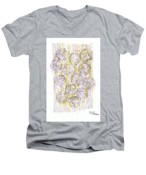 Size Exclusion Chromatography Men's V-Neck T-Shirt