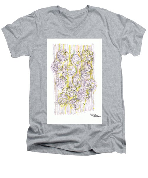 Size Exclusion Chromatography Men's V-Neck T-Shirt