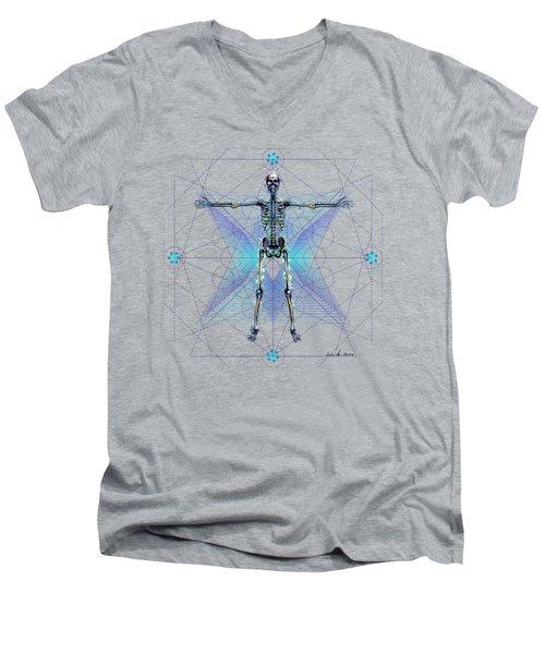 Skeletal System Men's V-Neck T-Shirt