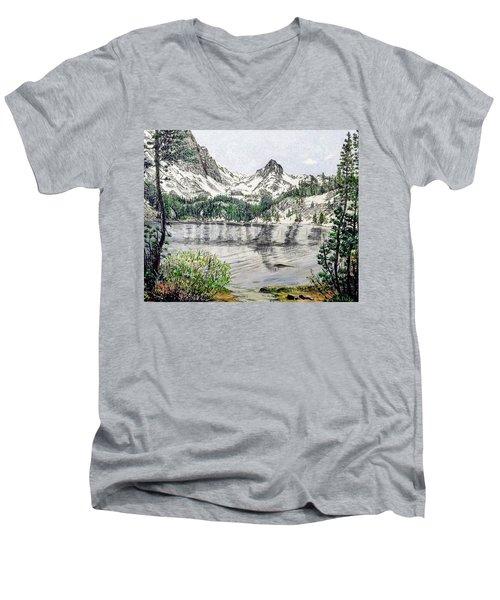 Skelton Lake Men's V-Neck T-Shirt