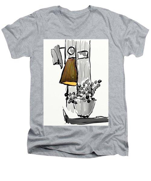 Sketch Of Interior Men's V-Neck T-Shirt