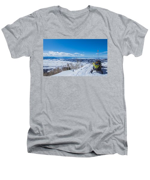 Ski Patrol Men's V-Neck T-Shirt