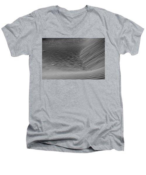Skn 1132 Wind's Creation Men's V-Neck T-Shirt by Sunil Kapadia