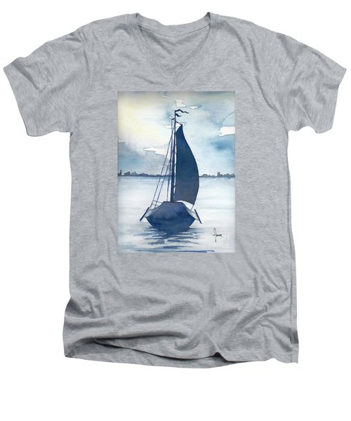 Skutsje No.2 Men's V-Neck T-Shirt