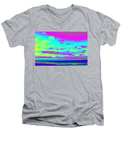 Sky #2 Men's V-Neck T-Shirt