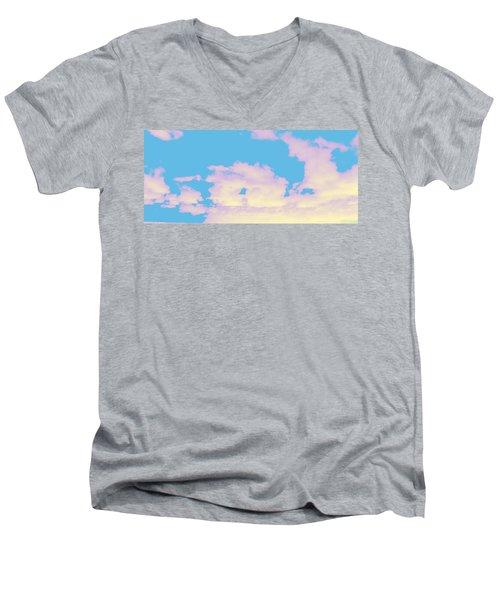 Sky #6 Men's V-Neck T-Shirt