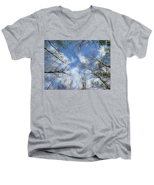 Sky Above Men's V-Neck T-Shirt