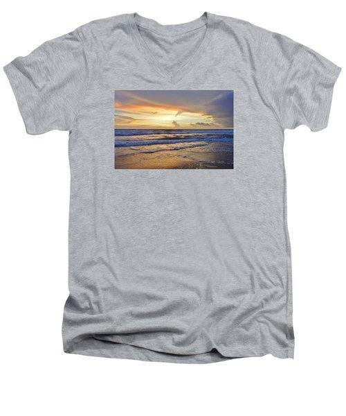 Sky Art Men's V-Neck T-Shirt