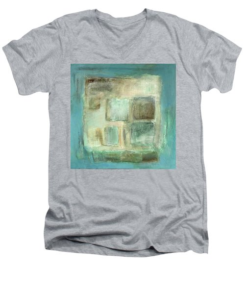 Sky Men's V-Neck T-Shirt