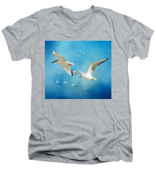 Sky High Flight Men's V-Neck T-Shirt