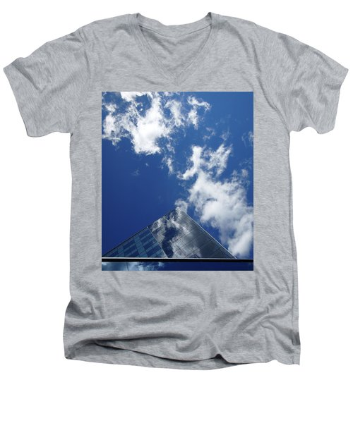 Sky Pyramid Men's V-Neck T-Shirt