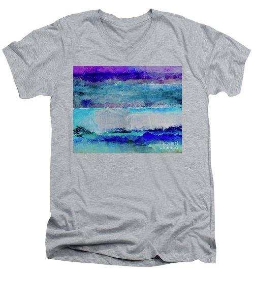 Sky Striations Men's V-Neck T-Shirt