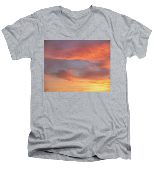 Sky Variation 17 Men's V-Neck T-Shirt