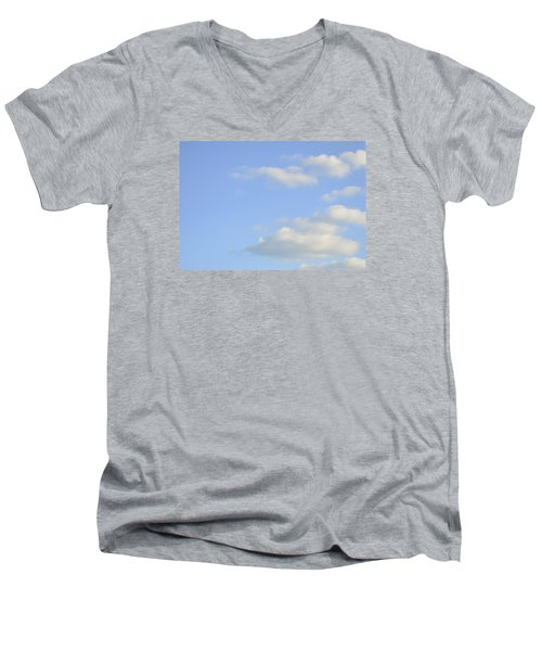 Men's V-Neck T-Shirt featuring the photograph Sky by Wanda Krack
