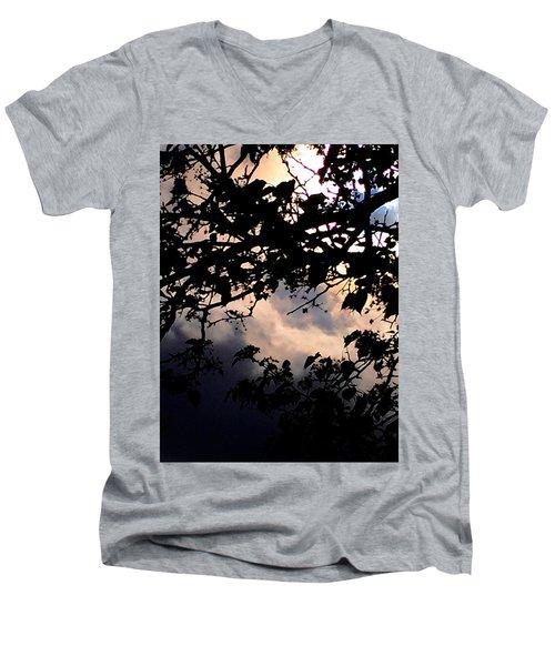 Sky Works Men's V-Neck T-Shirt