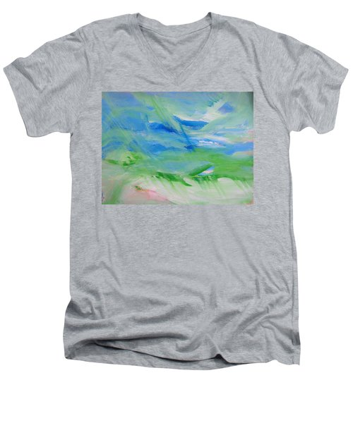 Skyland Men's V-Neck T-Shirt
