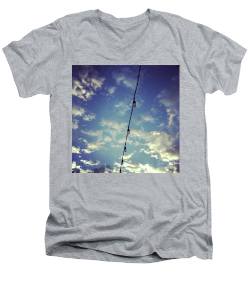 Skylights Men's V-Neck T-Shirt