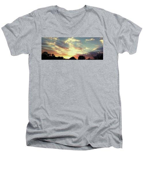 Skyscape Men's V-Neck T-Shirt