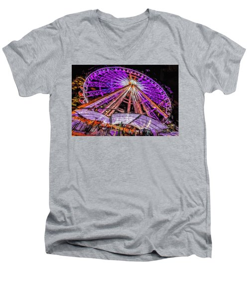 Skyview Atlanta Men's V-Neck T-Shirt