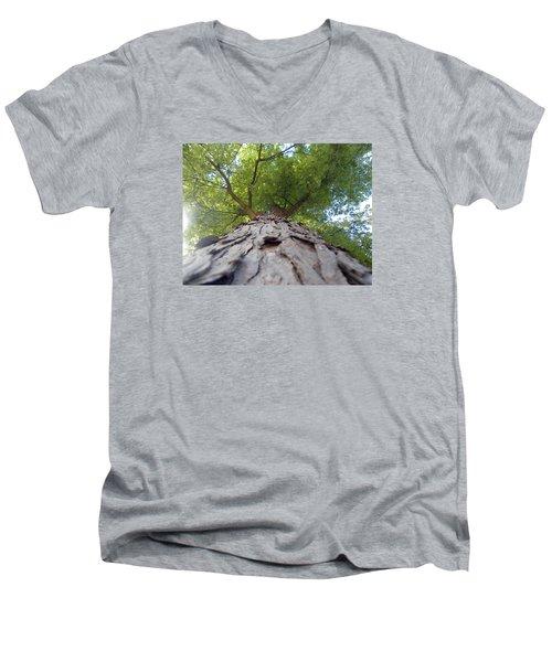 Skyward Men's V-Neck T-Shirt by Teresa Schomig