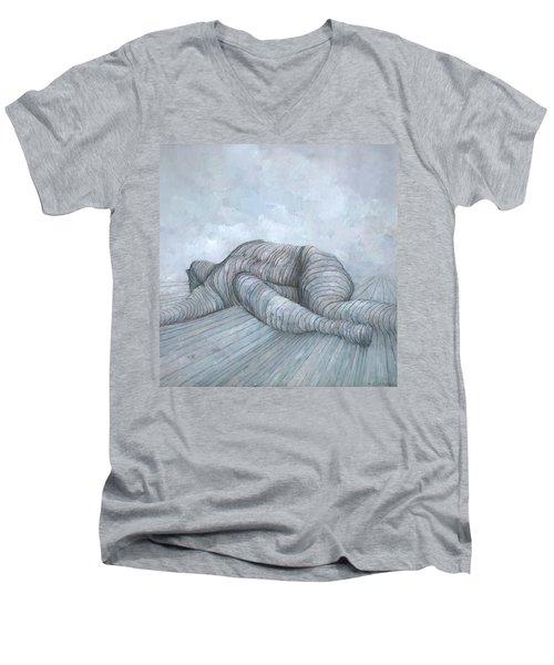 Slain Men's V-Neck T-Shirt