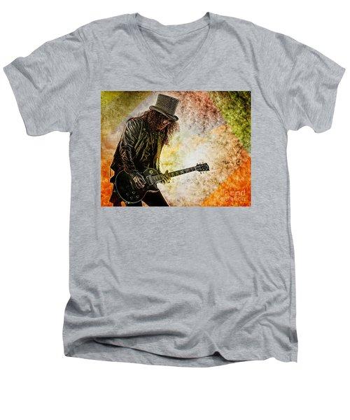 Slash - Guitarist Men's V-Neck T-Shirt