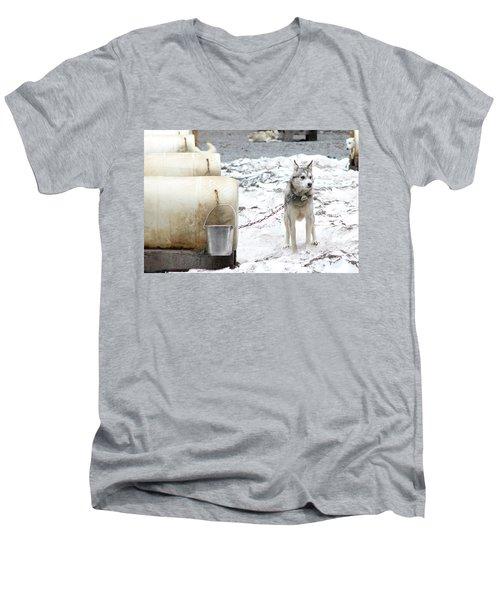 Grant Men's V-Neck T-Shirt