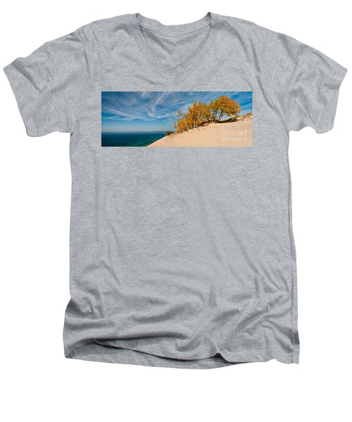 Sleeping Bear Overlook Men's V-Neck T-Shirt
