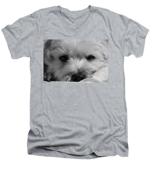 Sleepy Men's V-Neck T-Shirt