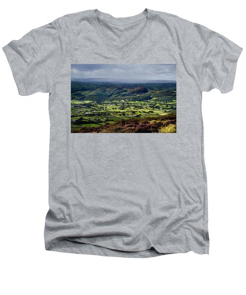 Slieve Gullion, Co. Armagh, Ireland Men's V-Neck T-Shirt by The Irish Image Collection