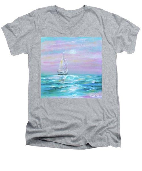 Slight Wind Men's V-Neck T-Shirt