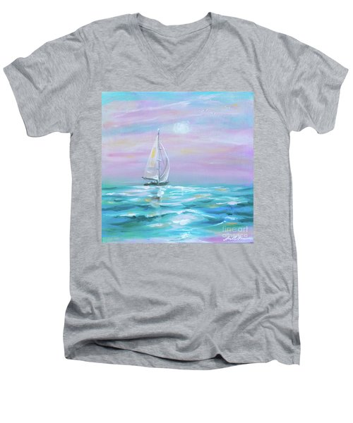 Slight Wind Men's V-Neck T-Shirt