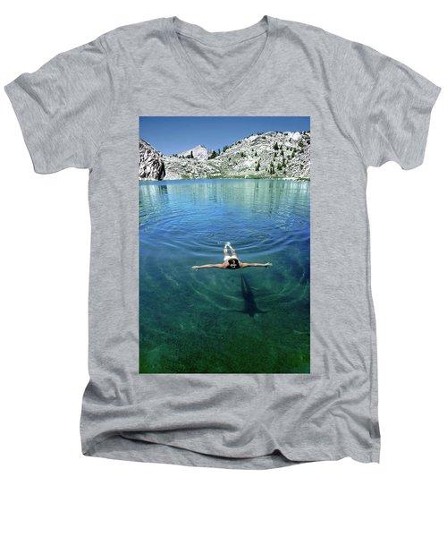 Slip Into Something Comfortable Men's V-Neck T-Shirt