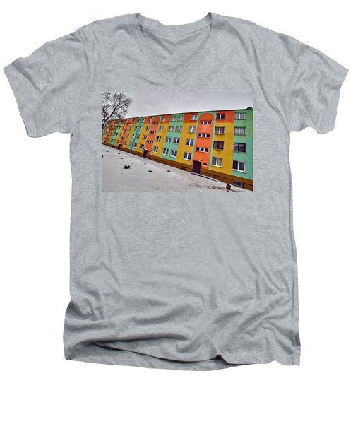 Slope Men's V-Neck T-Shirt