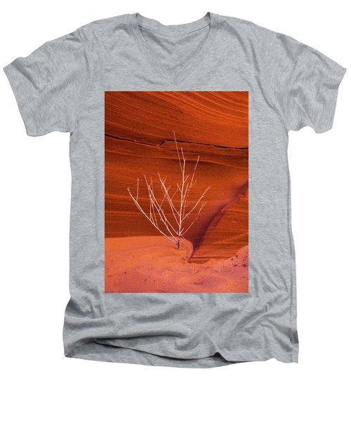 Slot Canyon Sentinel Men's V-Neck T-Shirt