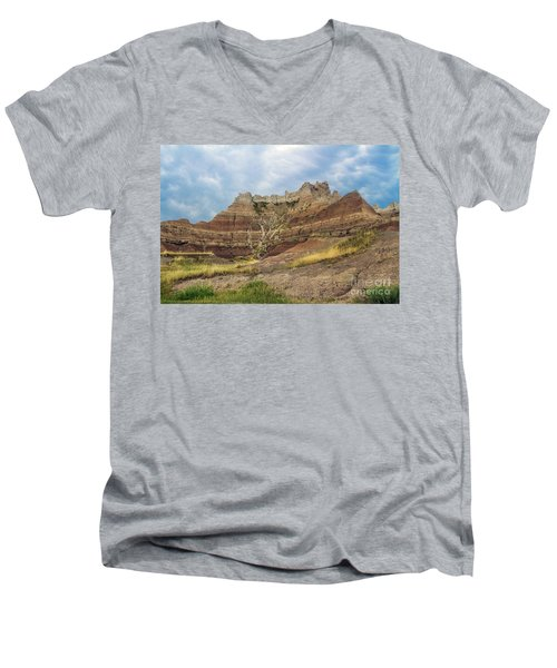 Slow Erosion Men's V-Neck T-Shirt