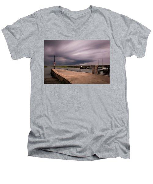 Slow Summer Storm Men's V-Neck T-Shirt