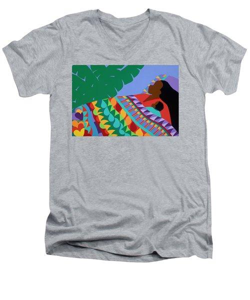 Slumber Men's V-Neck T-Shirt