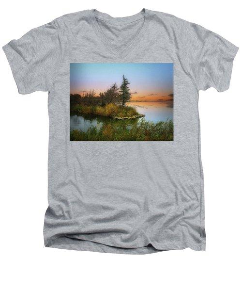 Small Island Men's V-Neck T-Shirt
